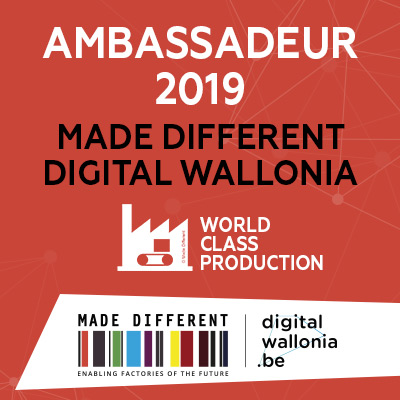 Schmitz, Ambassadeur 2019 Made Different Digital Wallonia