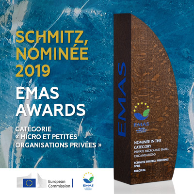 Schmitz, nominé 2019 aux European EMAS Awards